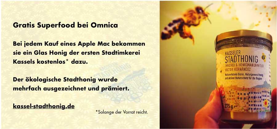 Gratis Honig bei Omnica